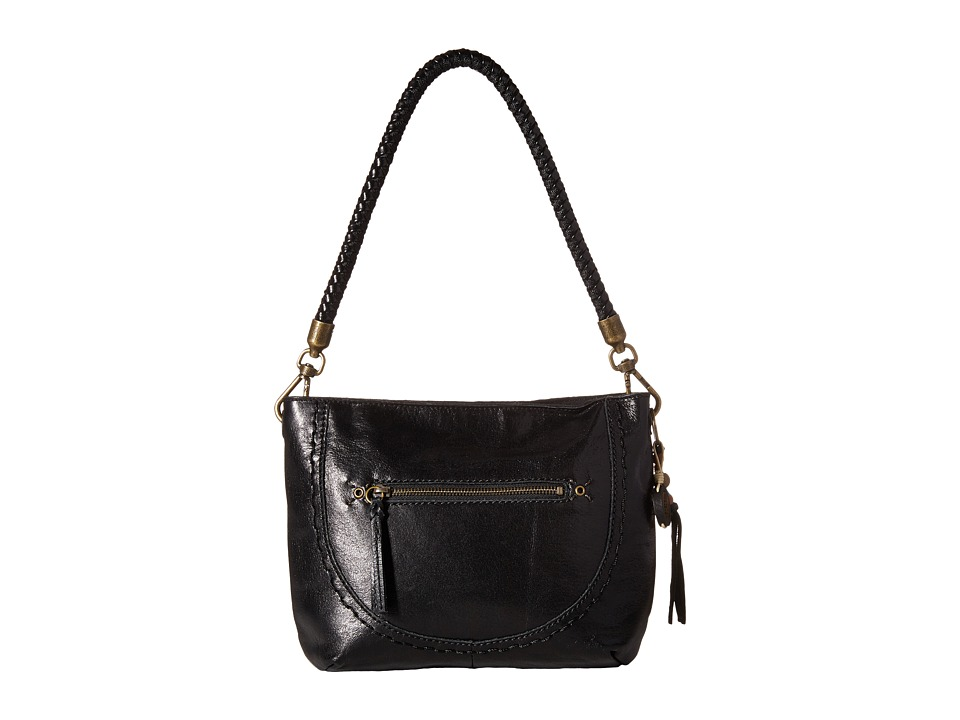 The Sak - Indio Leather Demi (Black) Shoulder Handbags