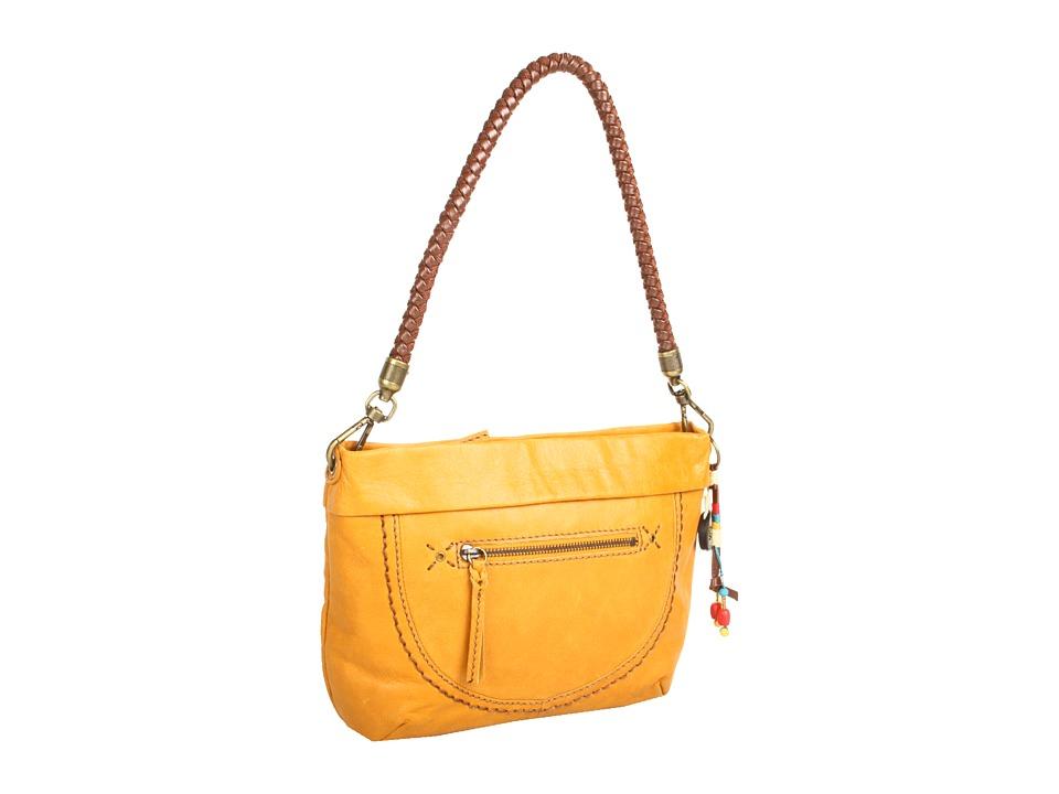 The Sak - Indio Leather Demi (Ochre) Shoulder Handbags