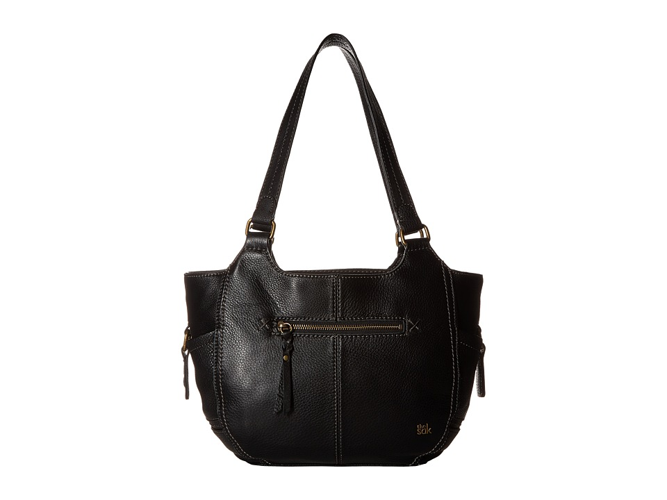 The Sak - Kendra Satchel (Black) Shoulder Handbags