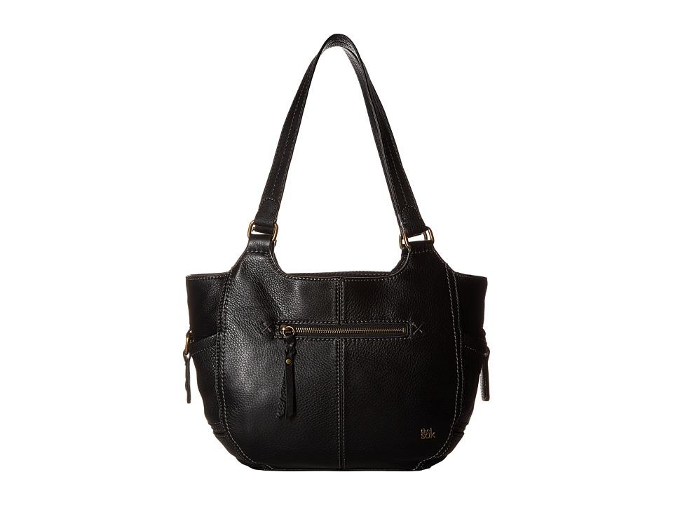 The Sak - Kendra Satchel (Black) Shoulder Handbags
