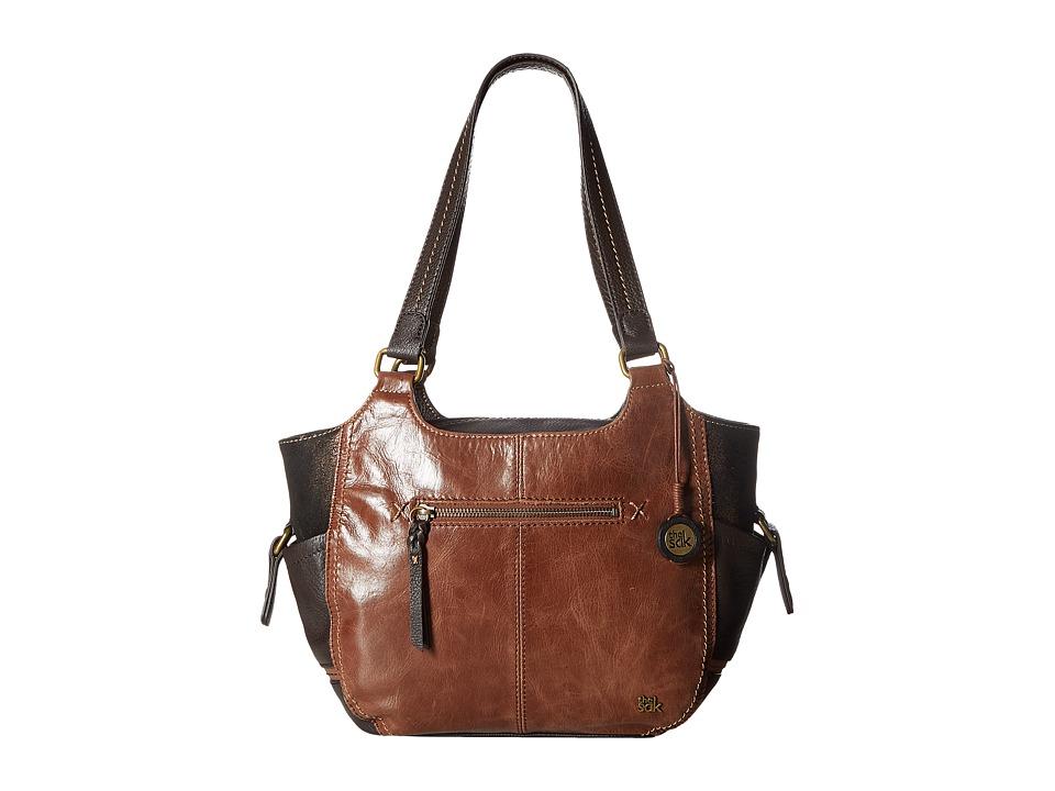 The Sak - Kendra Satchel (Teak Multi) Shoulder Handbags