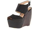 MIA Limited Edition - Valerie (Black Croc) - Footwear