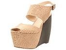MIA Limited Edition - Valerie (Stone Croc) - Footwear