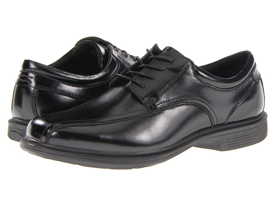 Nunn Bush Bartole St. Bicycle Toe Oxford (Black) Men