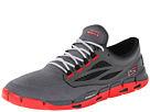 SKECHERS - GObionic (Charcoal/Red) - Footwear