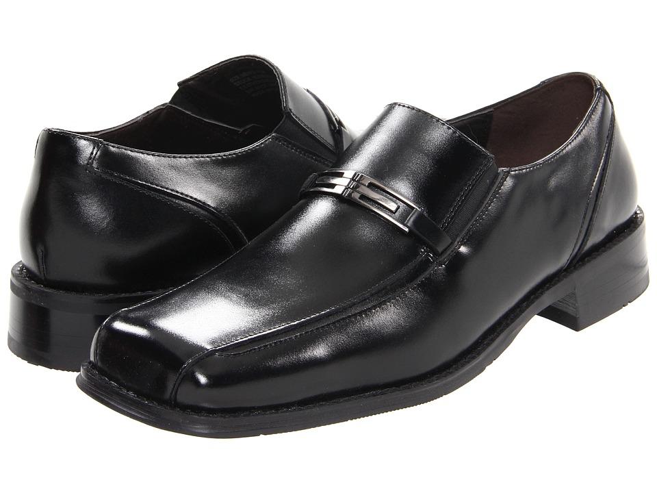 Giorgio Brutini 17586 Black Mens Slip on Dress Shoes