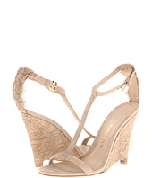 Burberry - Lace T-Strap Wedge