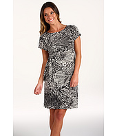 Donna Morgan - Cap Sleeve Side Tie Dress