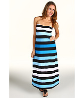 Tommy Bahama - Bermuda's Lost Stripes Bandeau Tea Length Dress
