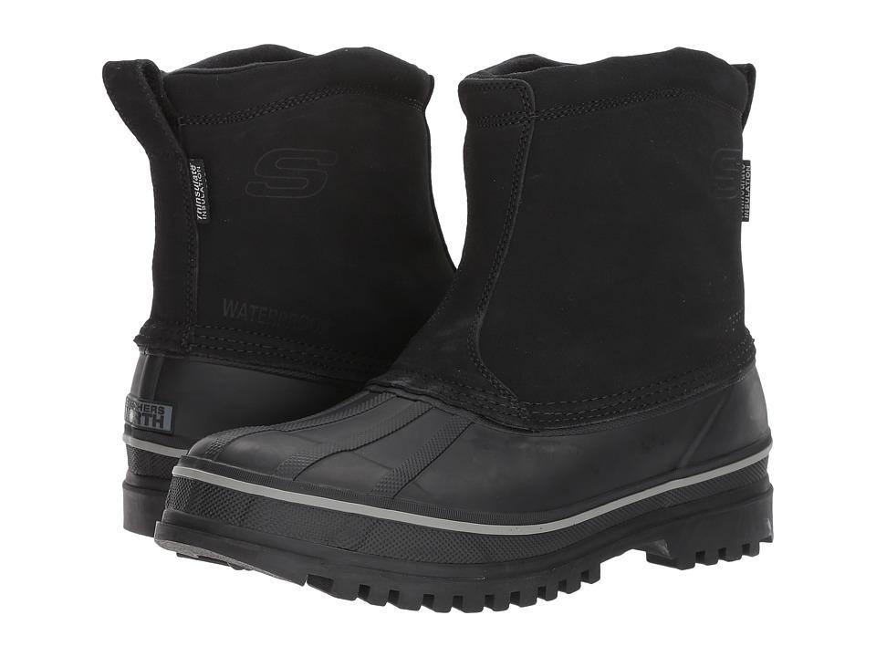 SKECHERS - Revine (Black) Mens Boots