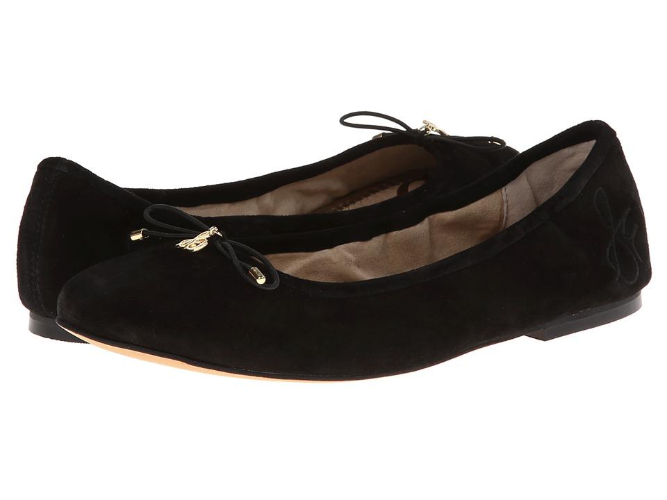 Sam Edelman Felicia (Black Suede) Flats