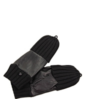 Echo Design - Leather/Knit Pop Top Glove