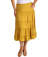 Karen Kane Plus - Plus Size Crushed Tiered Skirt
