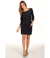 AG Adriano Goldschmied - Microsuede Zip Back Shift Dress
