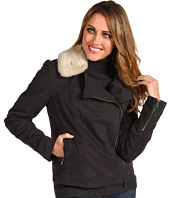 Calvin Klein Jeans - Fur Collar Motorcycle Jacket