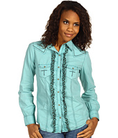 Ryan Michael - Women's Ruffled Shirt