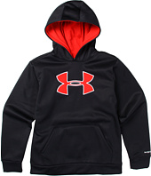 Under Armour Kids - Boys' Armour® Fleece Storm Big Logo Pullover Hoodie (Big Kids)