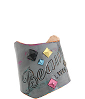 Leather Couture by Jessica Galindo - Classic Freeform Cuff--Beauty Lives On