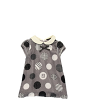 Fendi Kids - Baby Velvet Dotted Dress (Infant)