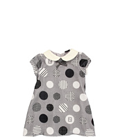 Fendi Kids - Baby Velvet Dotted Dress (Infant/Toddler)