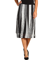 Jones New York - Rayon Sheer Linen Pull On Skirt