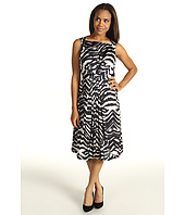 Jones New York - Tiger Burst Pleat Dress