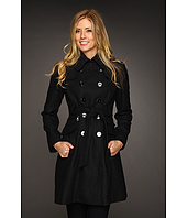 DKNY - Double Breasted Wool Trench