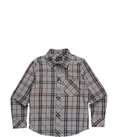 Fendi Kids - Boys' L/S Plaid Button Up Shirt (Little Kids/Big Kids)