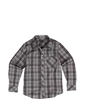 Fendi Kids - Boys' L/S Plaid Button Up Shirt (Big Kids)
