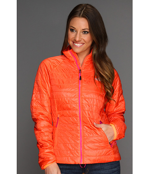 The North Face - Women's Blaze Full Zip Jacket (Radiant Orange) - Apparel