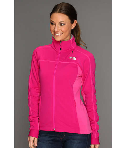 The North Face - Women's Momentum Jacket (Fuchsia Pink/Linaria Pink) - Apparel