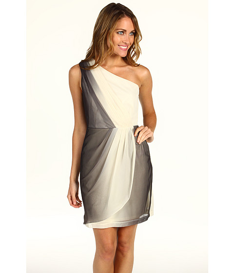 Max and Cleo Brianna One Shoulder Jersey Dress at Zappos.com
