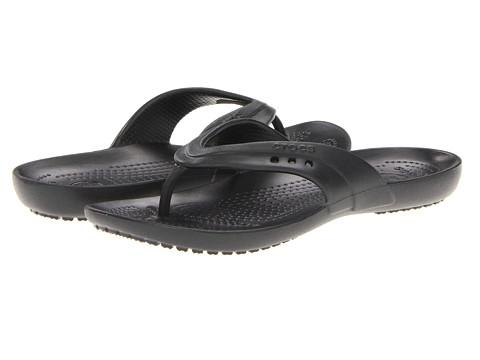 crocs kadee flip flop black. Black Bedroom Furniture Sets. Home Design Ideas