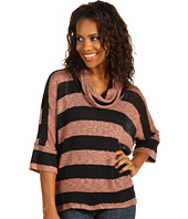 Splendid - Bristol Stripe Cowl Neck Top