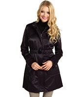 Jessica Simpson - Satin Hooded Belted Raincoat