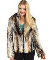 Jessica Simpson - Tricolor Faux Fur Jacket