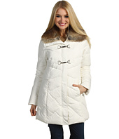 Jessica Simpson - Long Down Coat w/ Removeable Faux Fur Collar