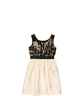 Us Angels - Blush Fab Dress w/ Elastic Band Waist (Big Kids)