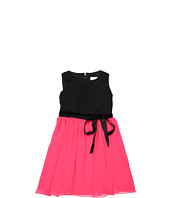 Us Angels - Pleat Tank Dress w/ Skirt & Ribbon (Little Kids)
