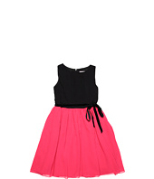 Us Angels - Pleat Tank Dress w/ Skirt & Ribbon (Big Kids)