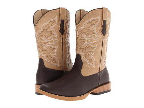 Roper Square Toe Cowboy Boot - Zappos.com Free Shipping BOTH Ways
