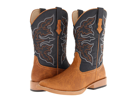 Roper Square Toe Cowboy Boot - Tan