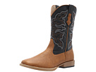 Roper Square Toe Cowboy Boot (Tan)