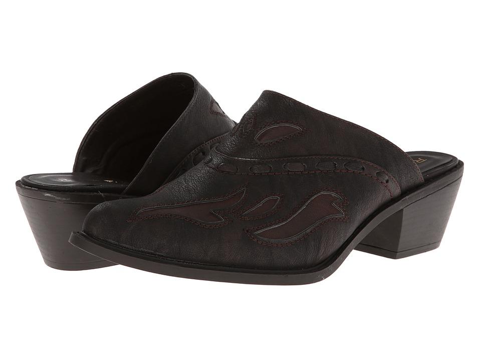 Roper Rockstar Interlace Mule (Brown) Cowboy Boots