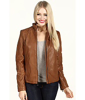 DKNY - Leather Scuba Jacket