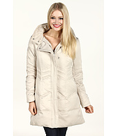 DKNY - Chevron Quilt Down Coat