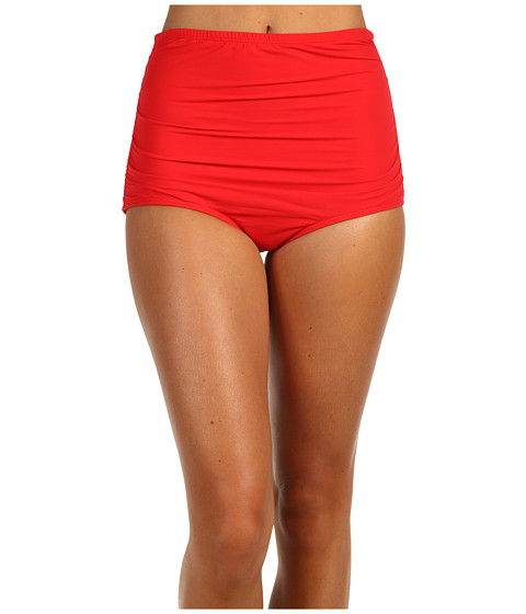 Cheap Guess On The Prowl High Waist Brief Red