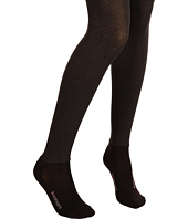 BOOTIGHTS - Opaque Sophisticated Herringbone Tight/Ankle Sock