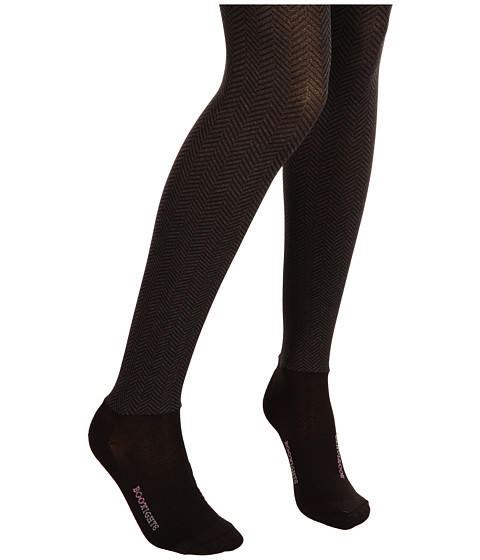 BOOTIGHTS Opaque Sophisticated Herringbone Tight/Ankle Sock
