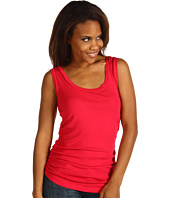 Red Dot - Ruched Side Tank Top